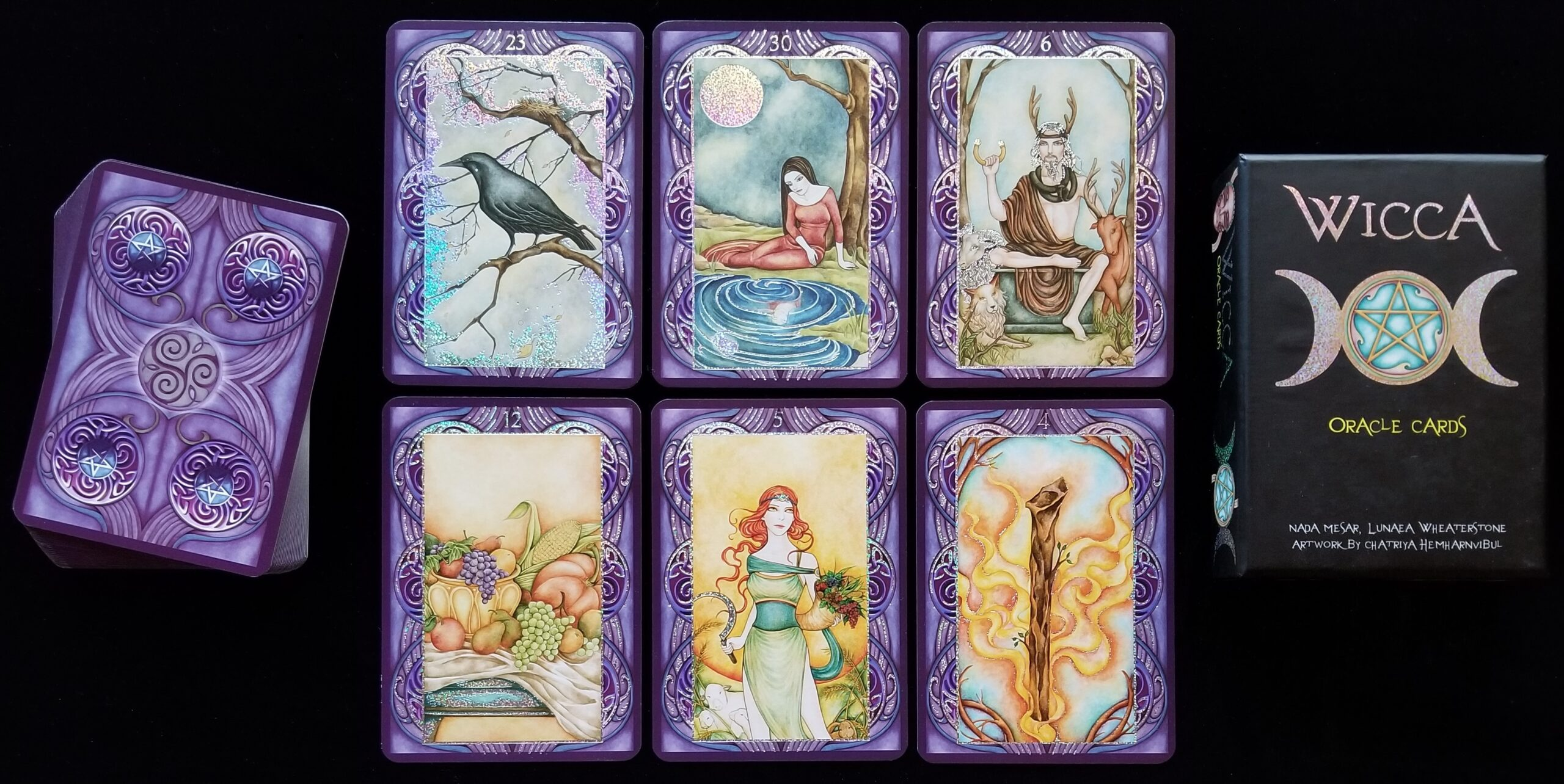 Using Oracle Cards